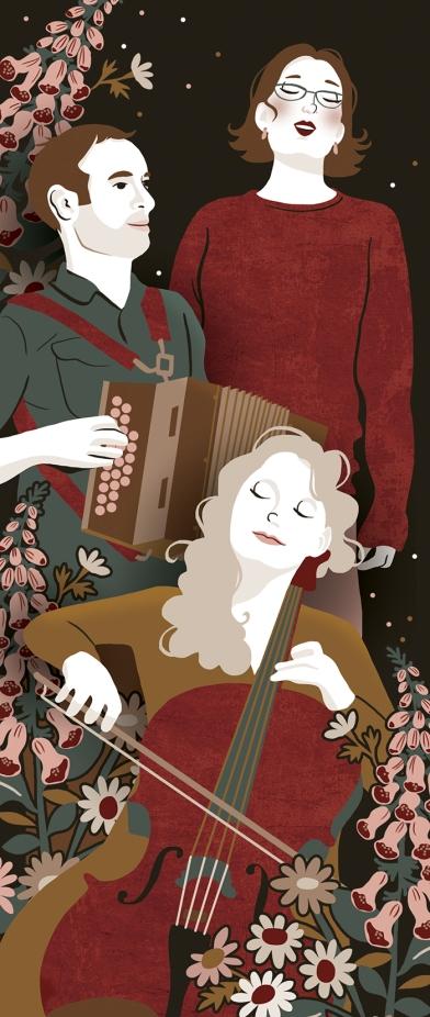 The Foxglove Trio by Marisa