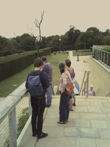 At the Yorkshire Sculpture Park